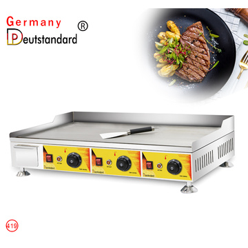 New Design Commercial Griddle Grill with CE