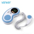 portable and cheap baby fetal doppler CE approved