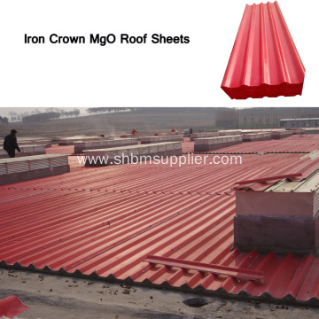 Iron Crown High Strength MgO Roofing Sheets