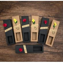 Elegant Kraft Lipstick Paper Drawer Box