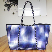 With pattern neoprene bags for beach extra large