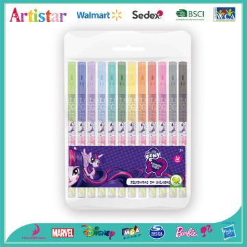 Pony 12 water color pens (pvc)