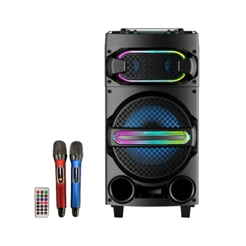 New Design Trolley Speaker 12inch With RGB Light