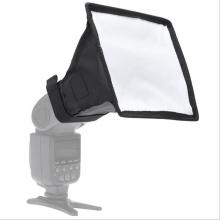 New Flash Diffuser Reflector Softbox Professional Mini Photo Diffuser Round Square Soft Light Box for Canon Nikon Sony Camera