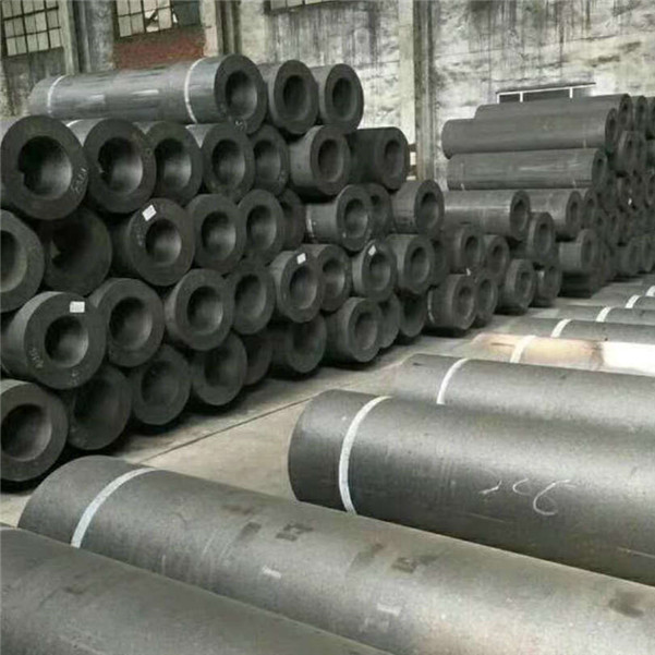 RP500 550 Length2100mm 2400mm Graphite Electrode with Nipple