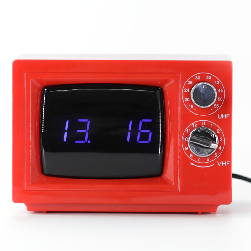 Red Vintage Alarm Clock