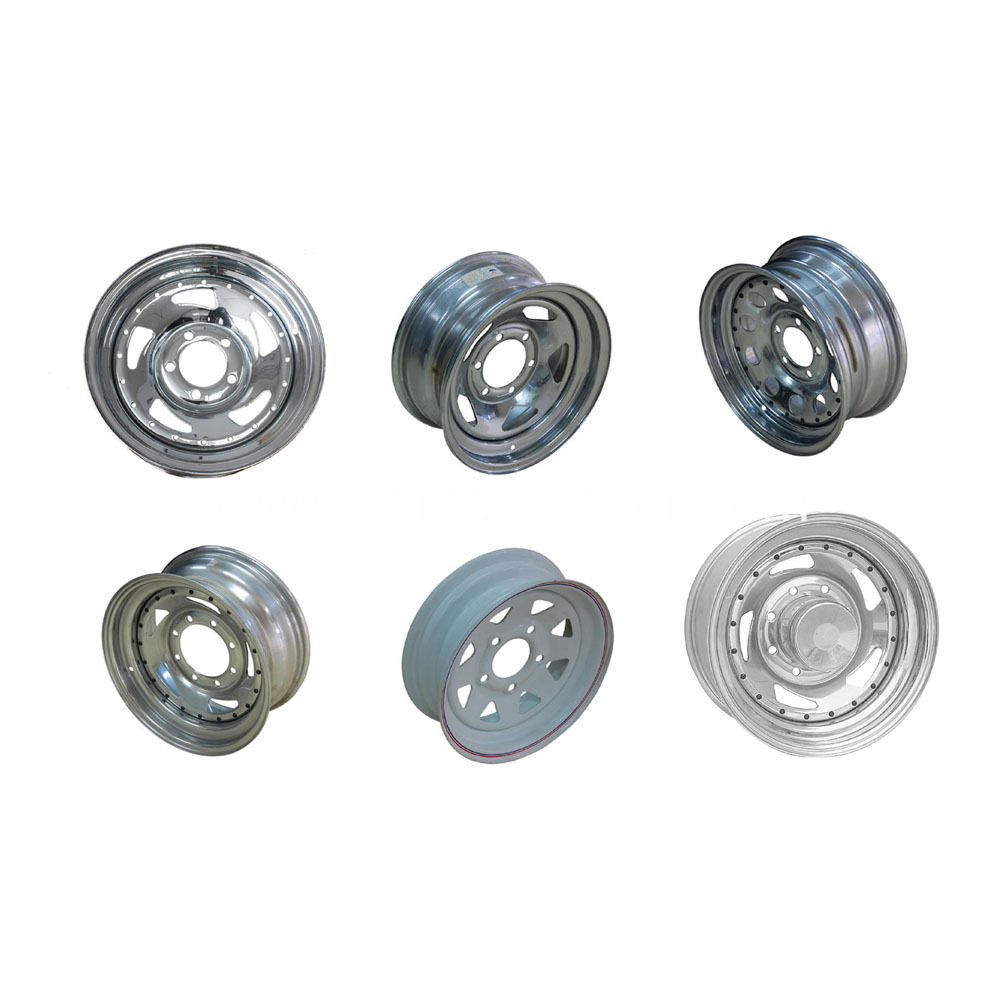Steel Wheels for Boat Trailer