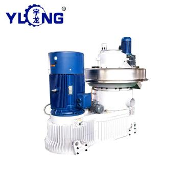 Cotton stalk pellet machine