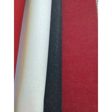 woven fusible interlining white red and black
