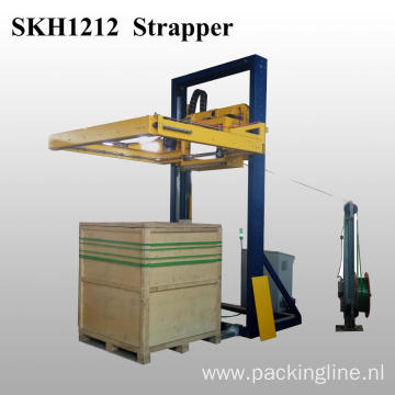 Automatic Horizontal Pallet Strapper Strapping Machine