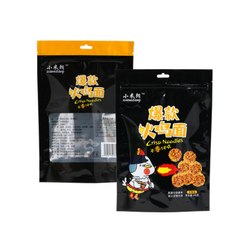 New creative pasta packaging plastic bag noodles bag