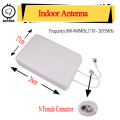 ZQTMAX 880~2635 mhz indoor 2x2 Mimo 3g 4g Lte Antenna Mobile Antenna Female Connector Booster Mimo Panel Antenna