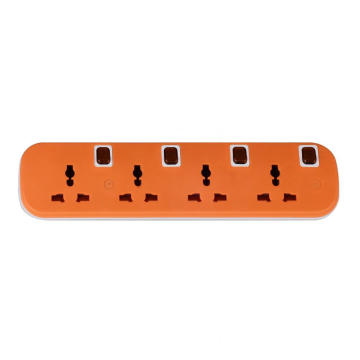Four individual power control power strip