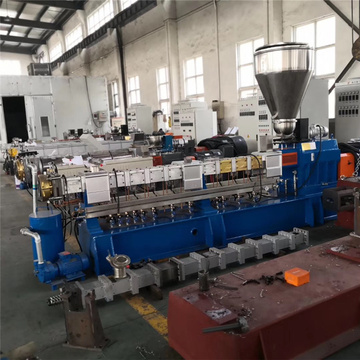 Plastic color master batch pellets extruder