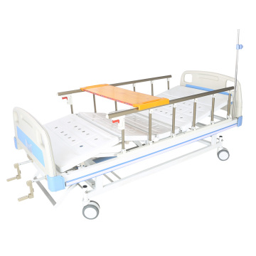 Manual hospital bed with dinning table good price