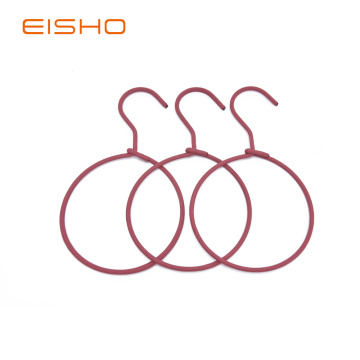 EISHO Lovely Metal Rings Rope Scarf Hangers