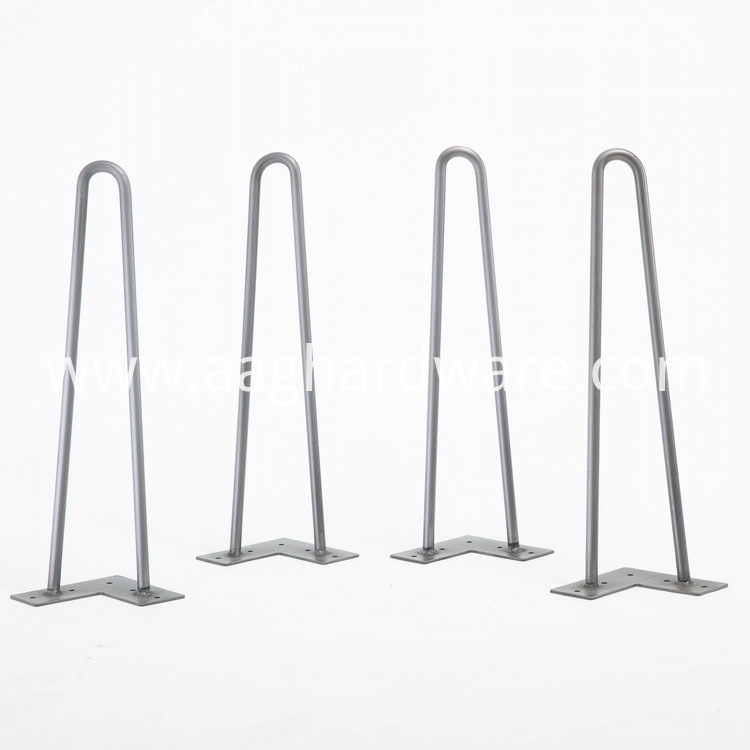 Round Table Hairpin Legs