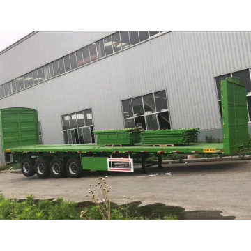 40Ft Container Flatbed Semi Trailer Truck