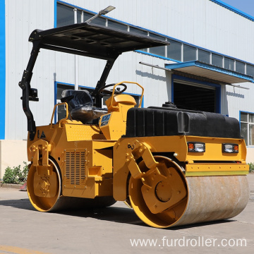 Road Construction Machinery 3 Ton Mechanical Vibratory Road Roller Compactor FYL-D203