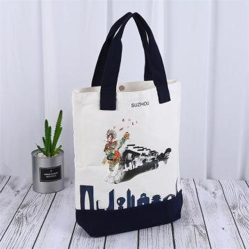 Cotton Muslin Canvas Tote Shopping Bag