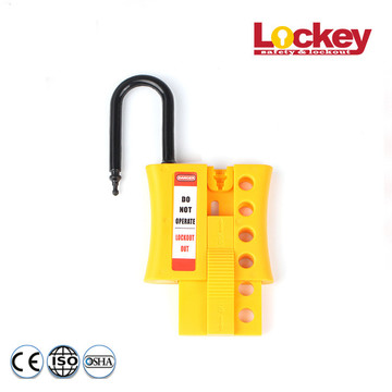4 Hole Insulated Locker Hasp Tagout