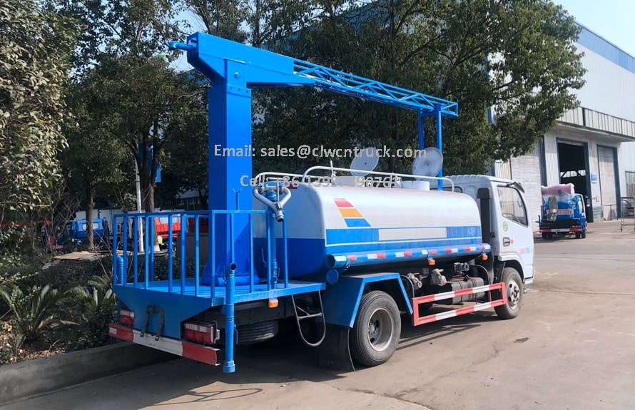 Railway Dust Suppression Truck Price