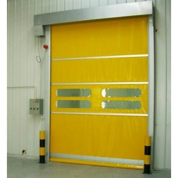 PVC Clothes Fast Rolling Shutter Industry Door
