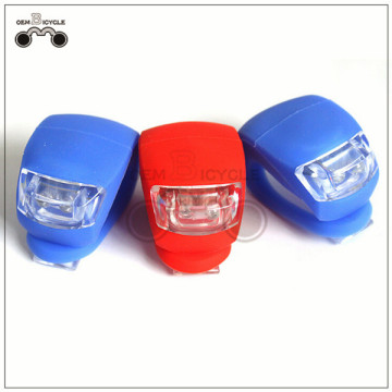 colorful silicone bike bicycle tail light LED lamp for sale