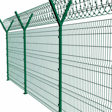 airport weld security fencing
