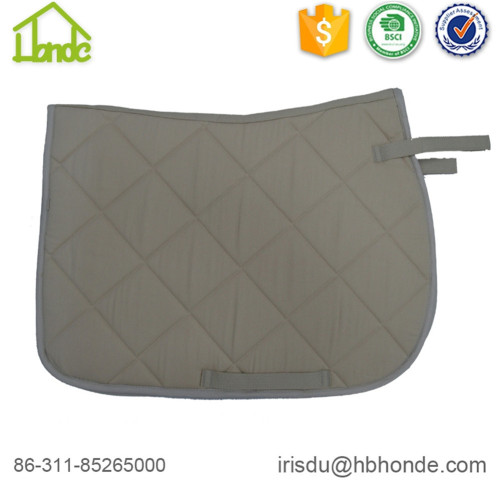 T/C Cloth Crystal Pattern Horse Saddle Pad