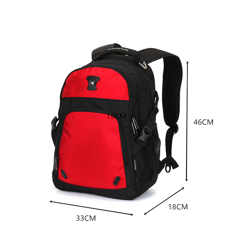 Large Capacity Suisswin Laptop Backpack