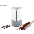 Small electric coffee grinder in the office