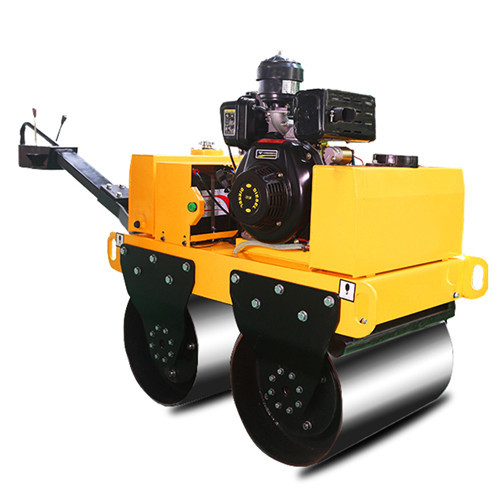 Double doulbe small road roller for sale