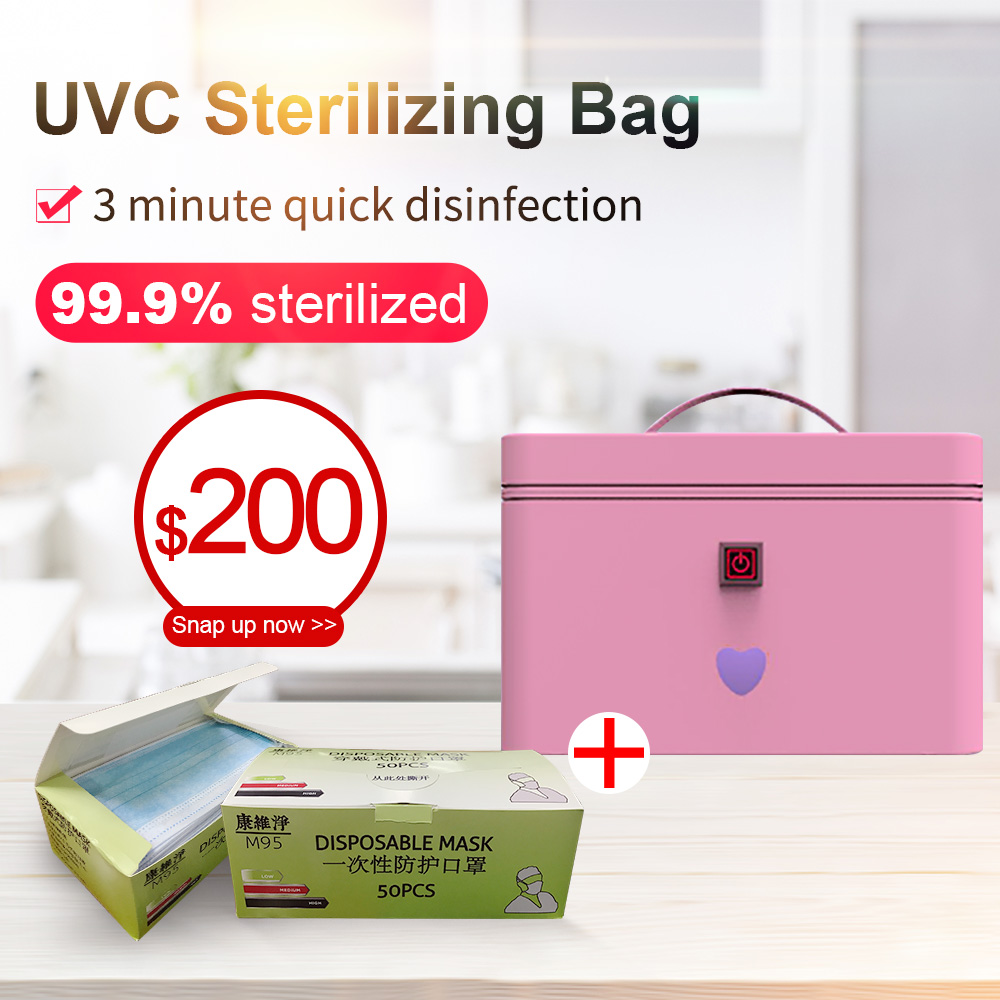 UV disinfection bag