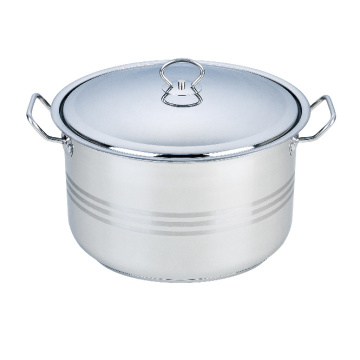 Stainless Steel  Stock Pot with Liner Handle