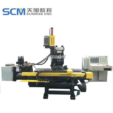Punching and Drilling Machine for Connection Plates