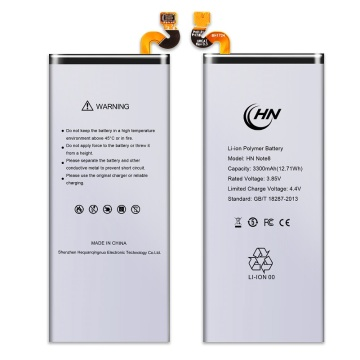 New cell phone battery for Samsung Note 8