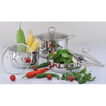 Stainless Steel Cookware Set-6PCS