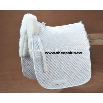 High quality sheepskin saddle pad wholesale