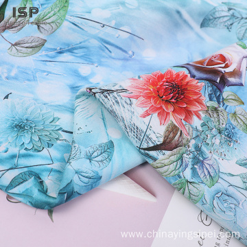 High Quality Woven Rayon Digital Print Fabric