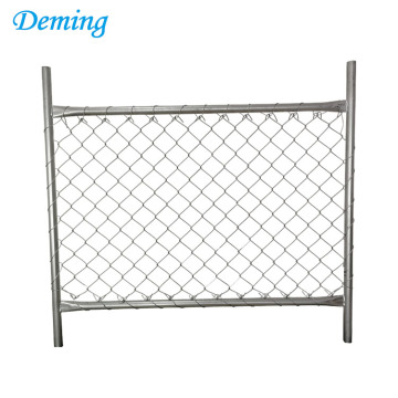 Anping Deming Factory High Quality Chain Link Temporary Fence