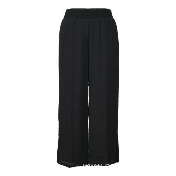 Wide Leg Long Pants Culottes Trouser
