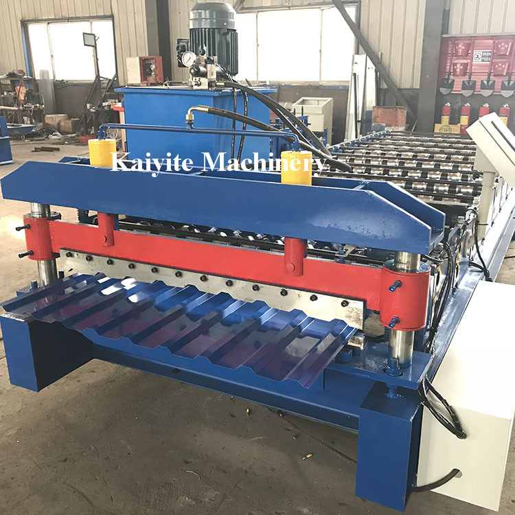 Trapezoidal Metal Roofing Sheet Roll Forming Machine Roof Panel Roll Forming Machine