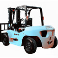 7 ton forklift with postioner and side shifter