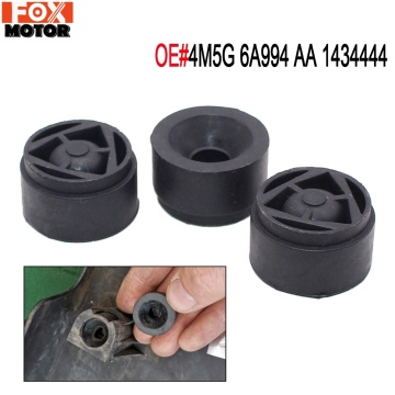 3Pcs Engine Rubber Mounting Bush For Ford Focus II 2004-2011 OE#4M5G-6A994-AA 1434444 Protective Cover Under Guard Plate Rubber