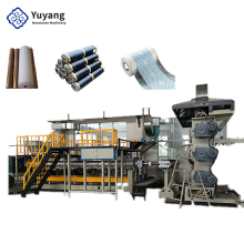 Flow casting waterproof breathable film production line