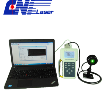 laser power meter with wide spectral range