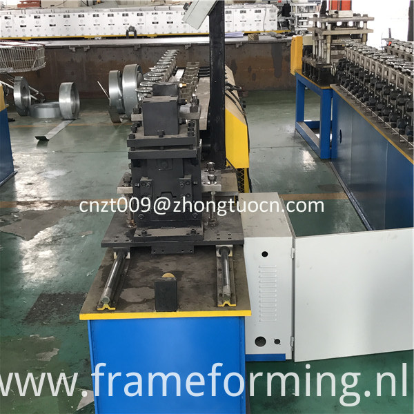 omega profile roll forming machine 4