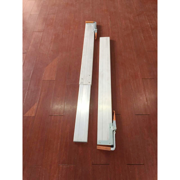 Aluminum Cargo Securing Bar with Two Adjustable F Clips on Each End