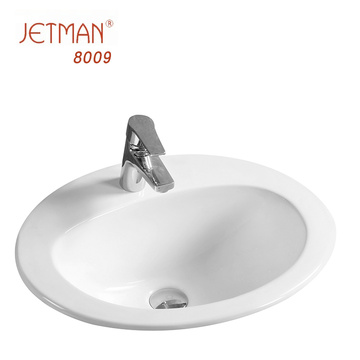 JM8009 555*450*210 Supplier wholesale Top seller Ceramic Wash Basin Sink